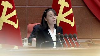 金与正谴责文在寅涉朝鲜射弹发言