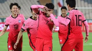 世预赛亚洲区韩国客场1-1战平伊朗