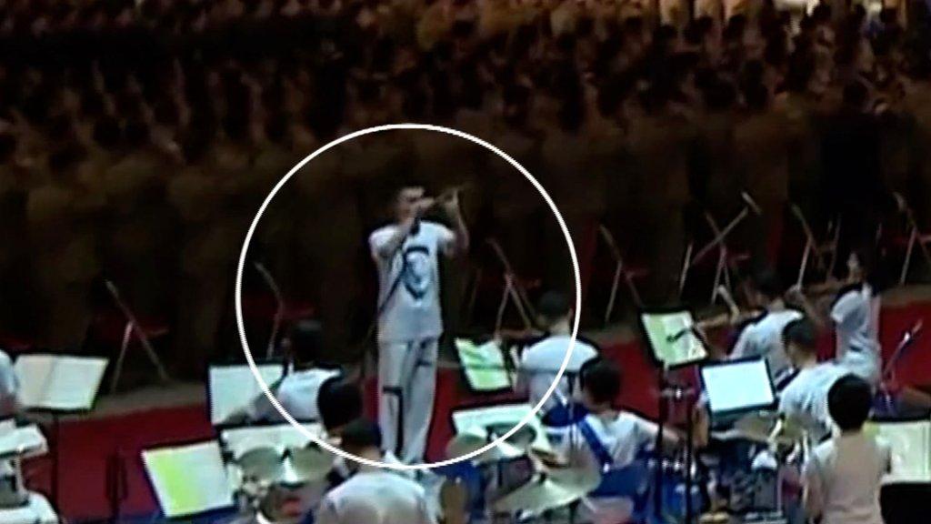 印有金正恩肖像T恤首次亮相朝鲜引关注