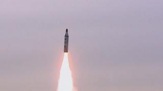 朝鲜称从潜艇试射新型潜射弹道导弹