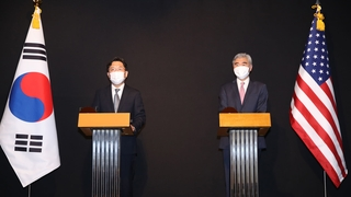 韩美对朝代表会晤共商终战宣言相关事宜