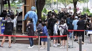 韩国新增1266例新冠确诊病例 累计354355例