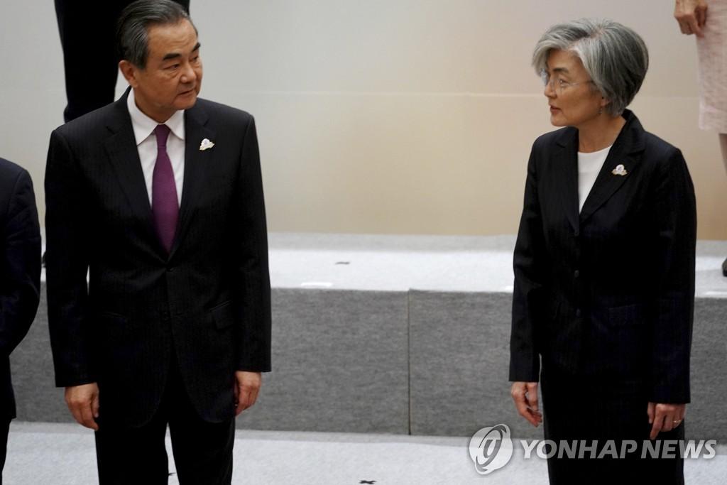 消息:中国外长王毅或于下月访韩