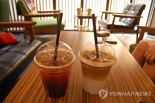 统计:暖冬促韩冰咖啡销量剧增