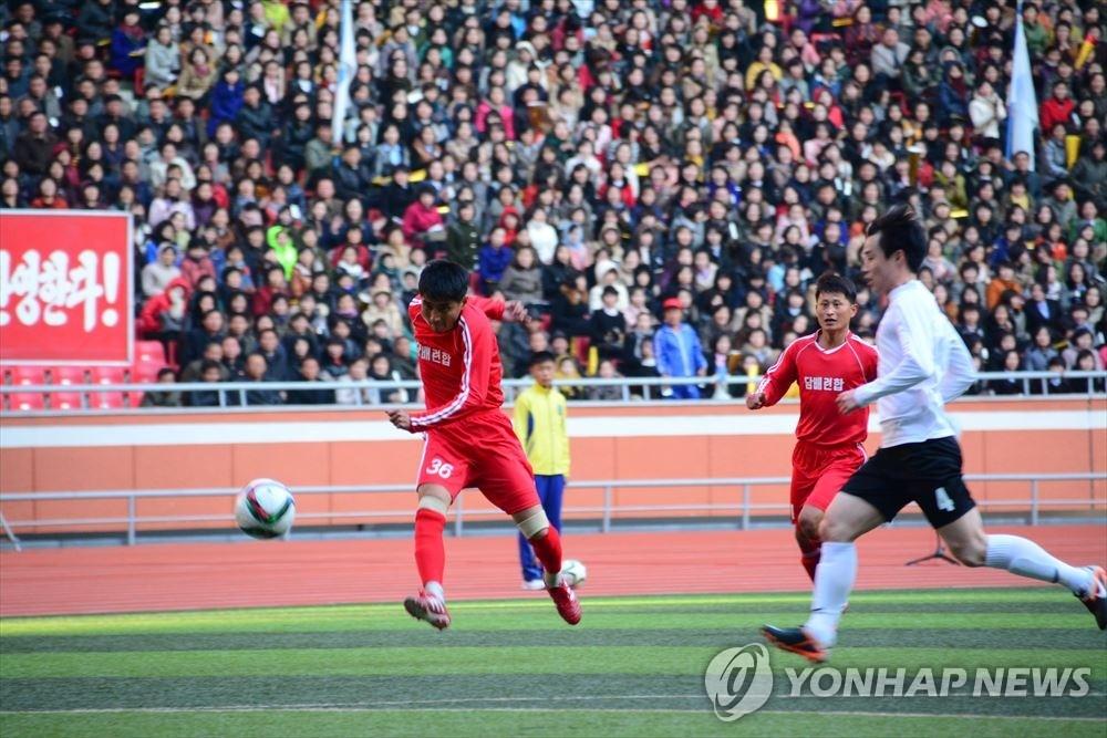 朝鲜总工会拟派团访韩参加韩朝工人足球赛