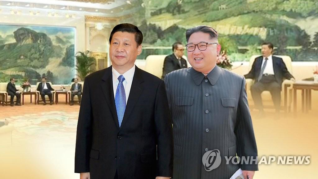 简讯:朝媒报道金正恩访华