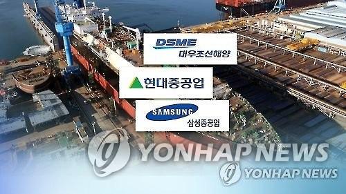 今年前10月韩造船厂订单量排世界第一