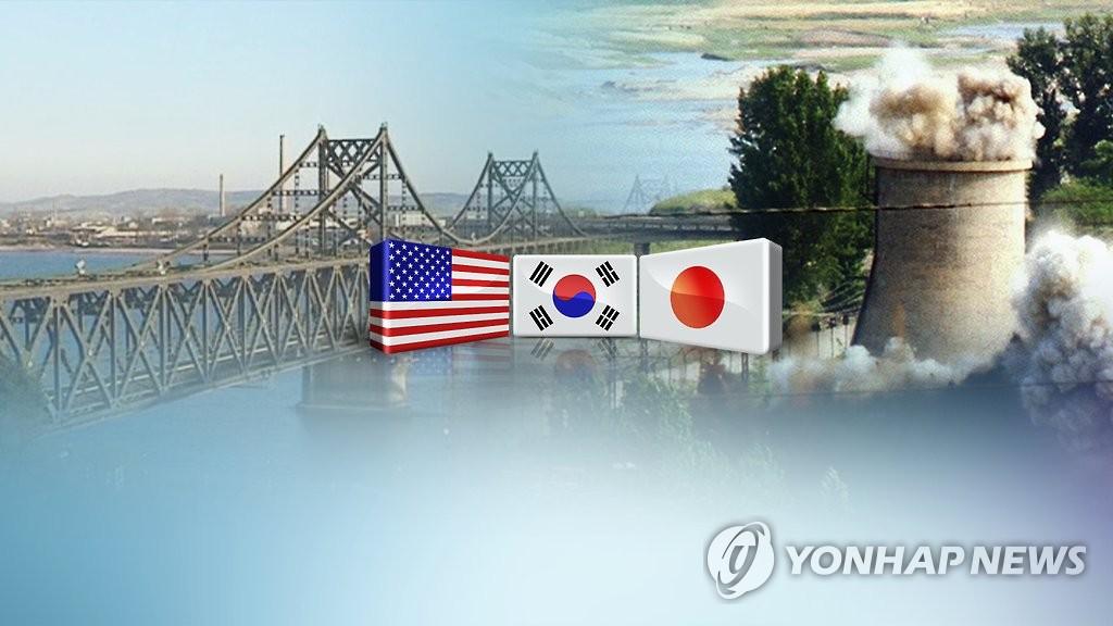 韩美日开视频会议商定携手应对朝鲜射弹