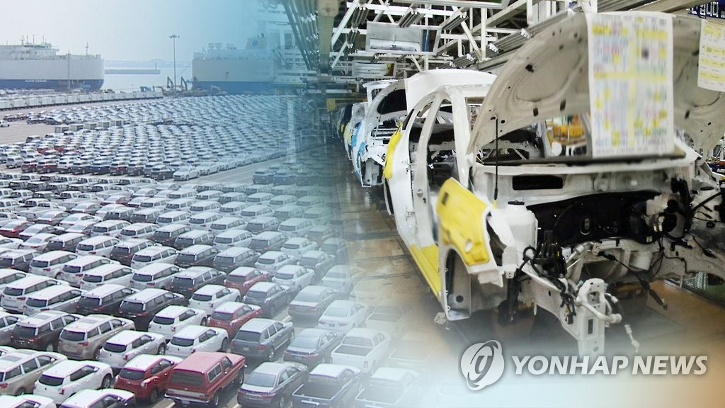 韩国2020年汽车产量重回全球第5