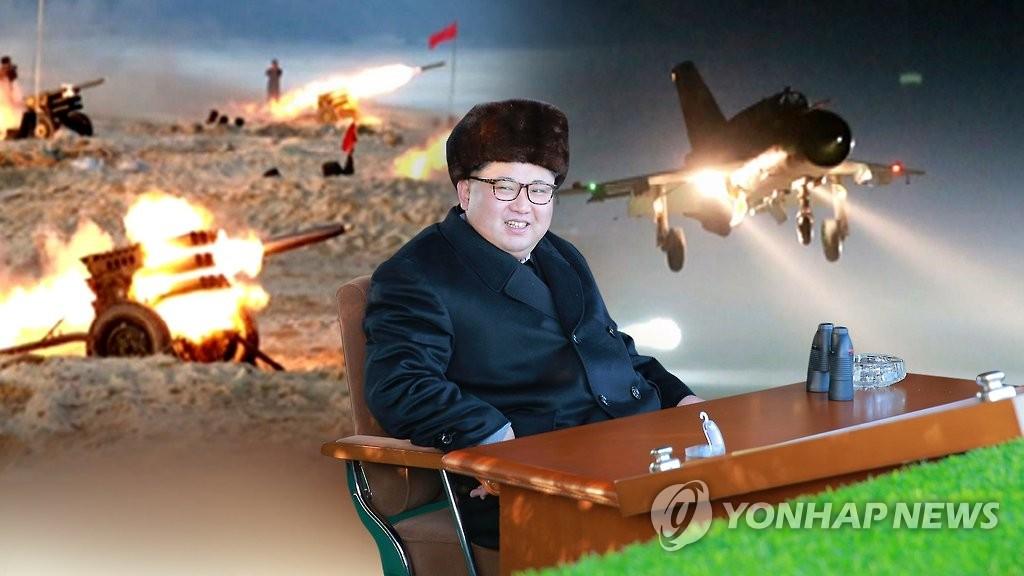 详讯:金正恩参观新型大功率火箭发动机点火试验