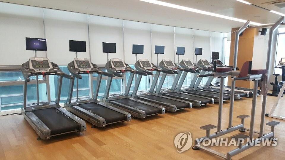 资料图片:健身房 韩联社