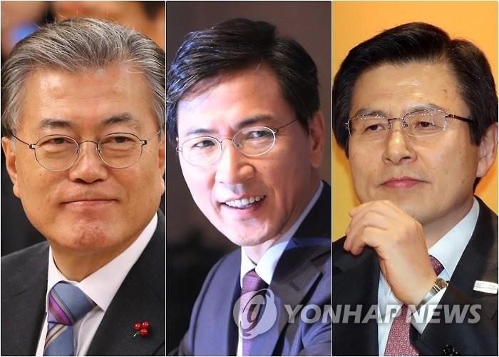 韩大选民调:文在寅安熙正呼声微跌优势仍大