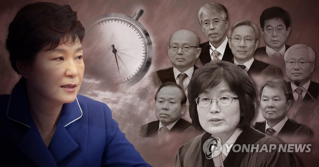 韩总统弹劾案明日宣判 何时最终表决引关注