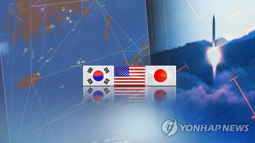 韩美日军方开视频会议应对朝鲜射弹 - 1
