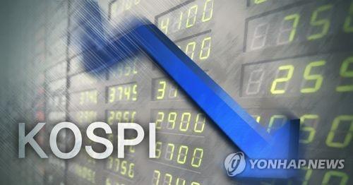 韩国KOSPI指数受疫情影响下跌3%