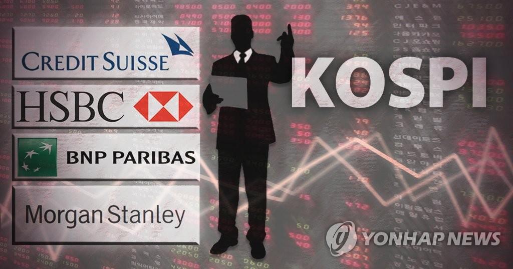 韩国股市时隔3年再现外资净卖出