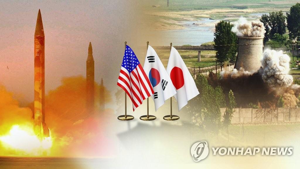 韩美日开视频会议讨论应对朝鲜射弹 - 1