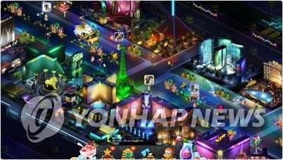 """资料图片:韩国游戏公司DOUBLEU GAMES旗下游戏""""DOUBLEU CASINO""""(韩联社/DOUBLEU GAMES网页截图)"""
