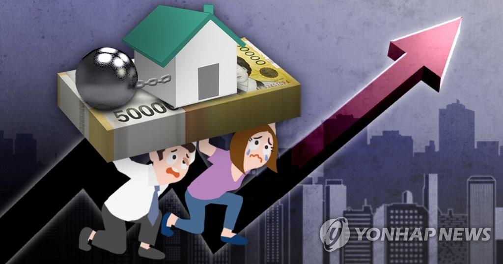 韩居民面临史上最大偿债压力