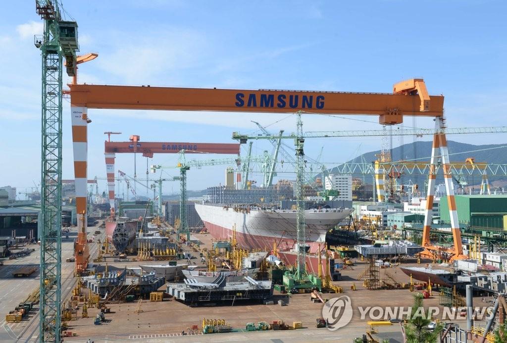 韩7月造船厂订单量排世界第一