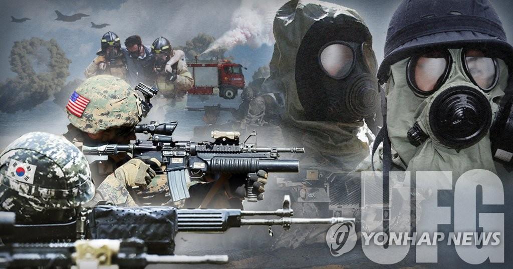 """韩美启动""""乙支自由卫士""""联合军演 - 1"""