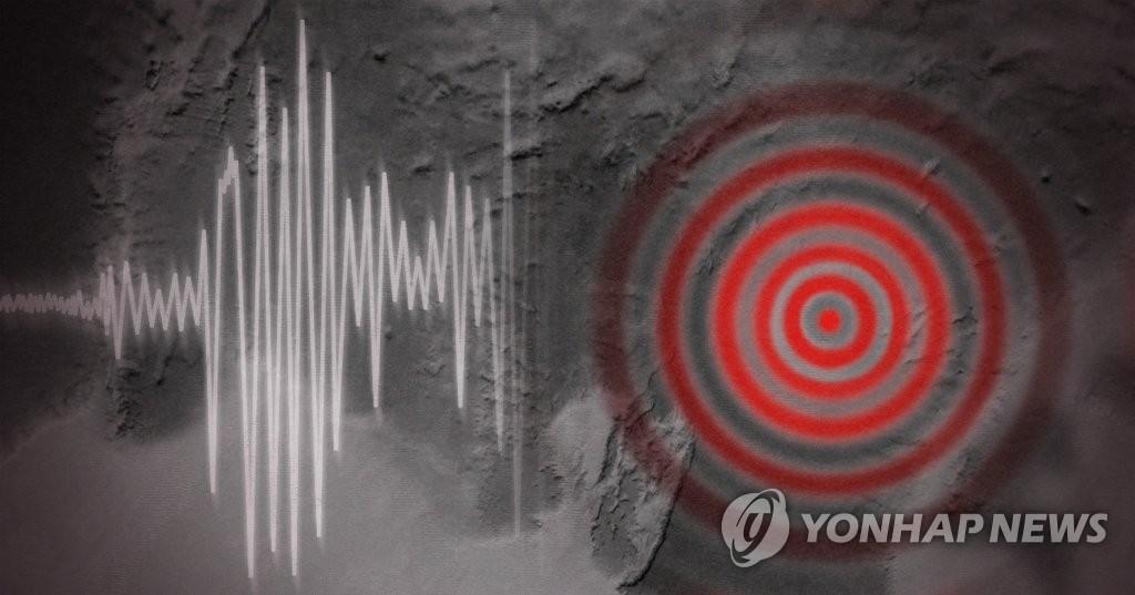 快讯:朝鲜江原道平康西北部发生3.8级地震