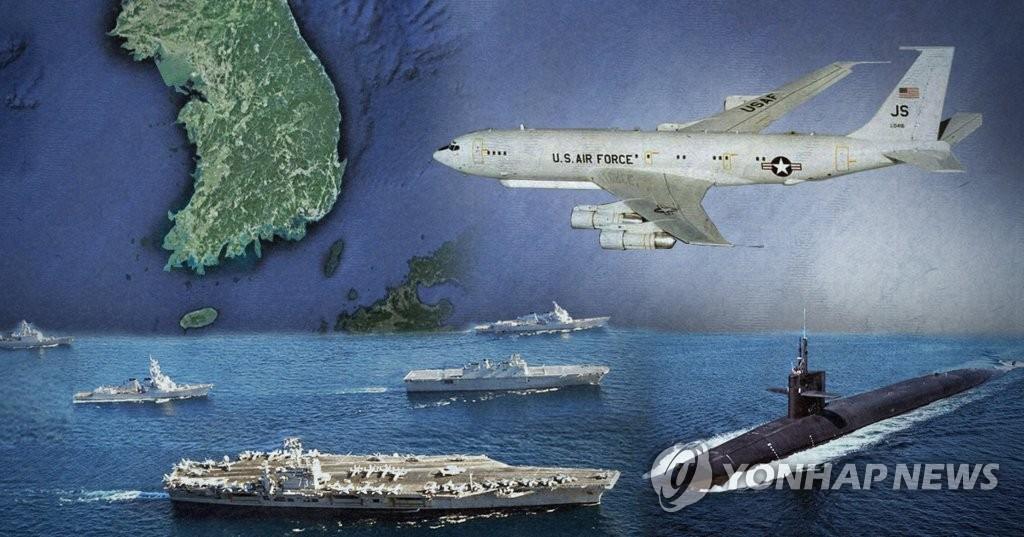 美国要求韩国承担战略武器出动费用