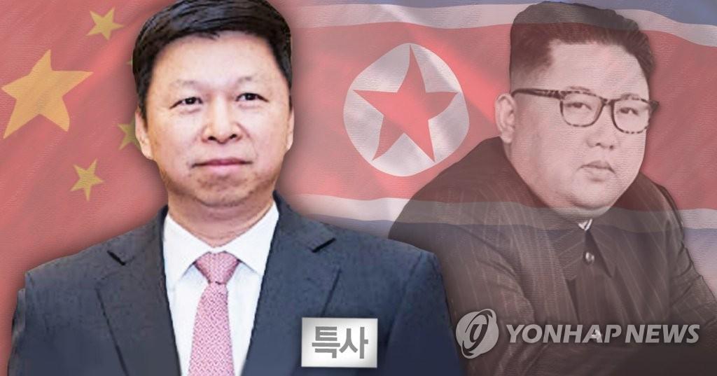 韩统一部:金正恩若未会见习近平特使实属罕见 - 1