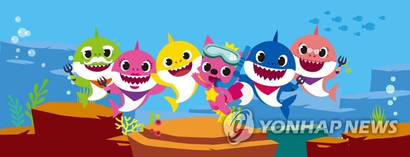 韩国儿歌《鲨鱼家族》再登美国公告牌