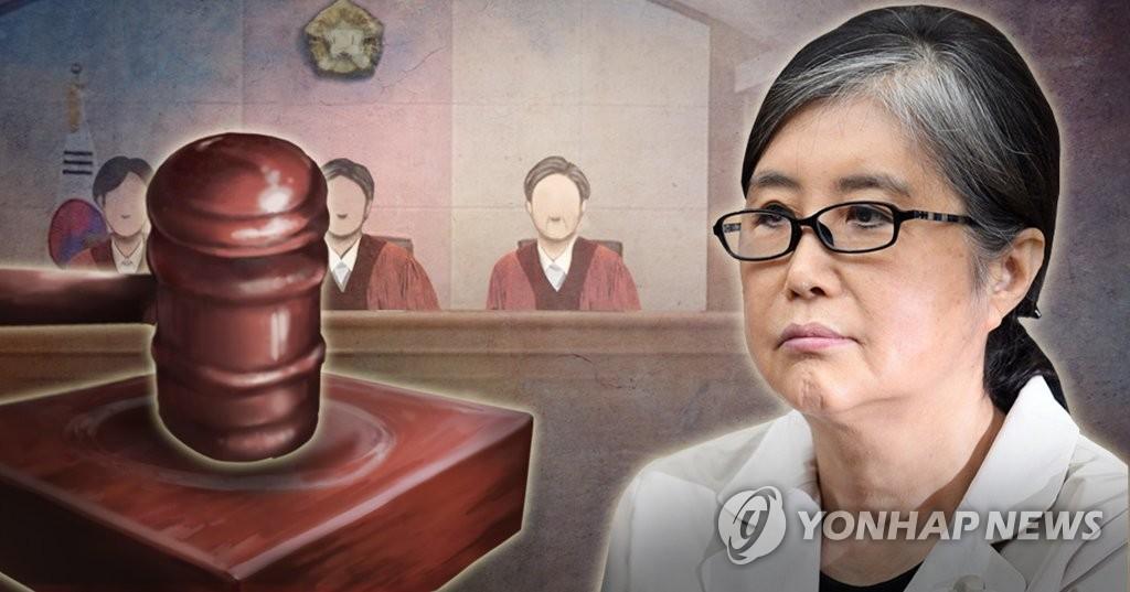 朴槿惠亲信干政案主犯崔瑞元自传透露遭检方恐吓 - 1