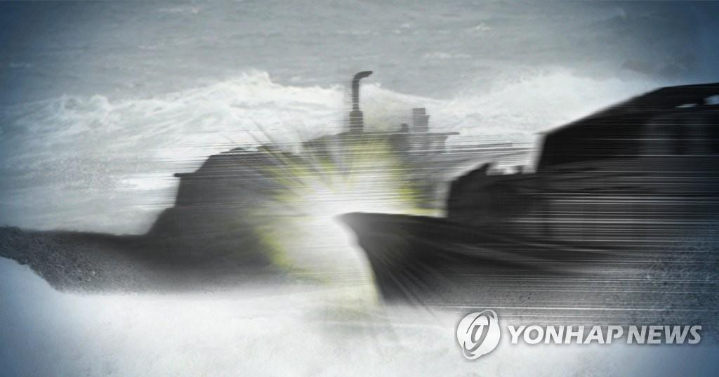 简讯:韩日渔船在独岛海域相撞 13人获救
