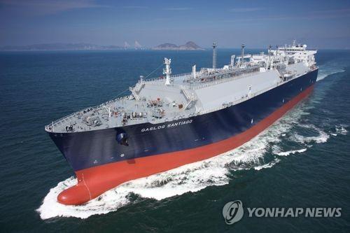 2018年韩国LNG进口量创历史新高