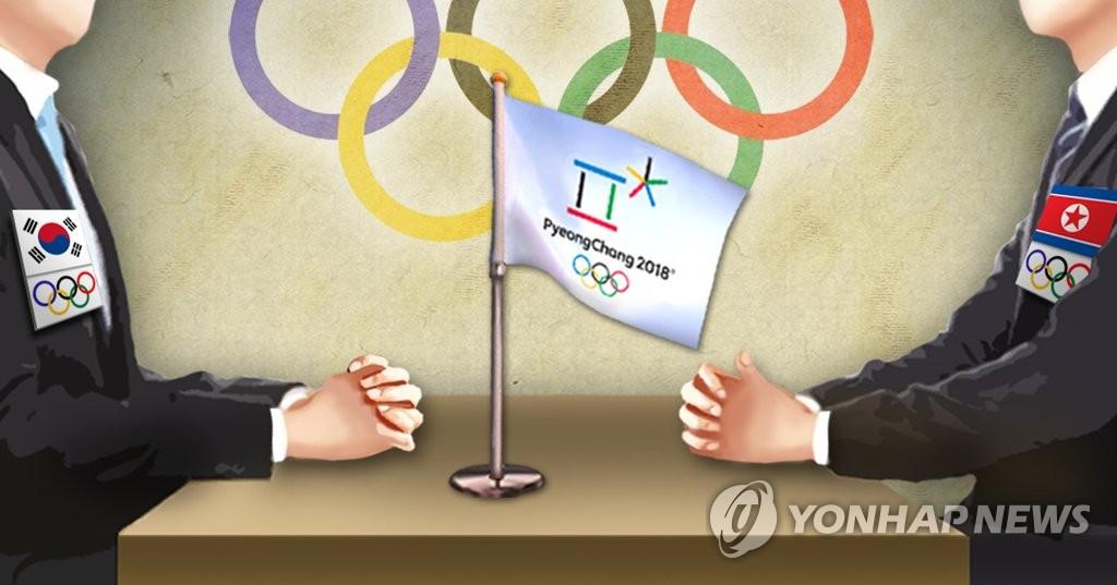 韩朝明举行工作会谈讨论朝鲜参奥事宜 - 1