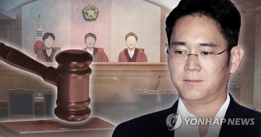 简讯:三星李在镕行贿案二审被判2年半缓刑4年