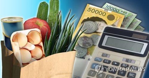 韩智库:家庭吃住支出增多 不必要开支减少