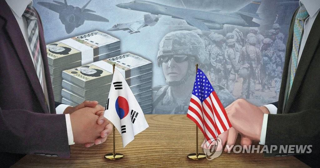 消息:韩美最早本周草签军费协定