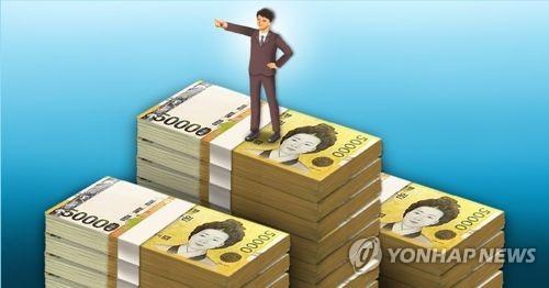 统计:韩国百万美元富豪逾105万