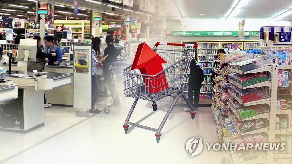 详讯:韩国3月CPI同比上涨1%