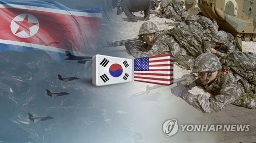 """简讯:朝鲜发表谈话抗议韩美联演称""""或寻新路"""""""
