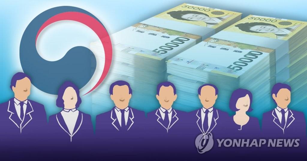 韩国官员公开财产