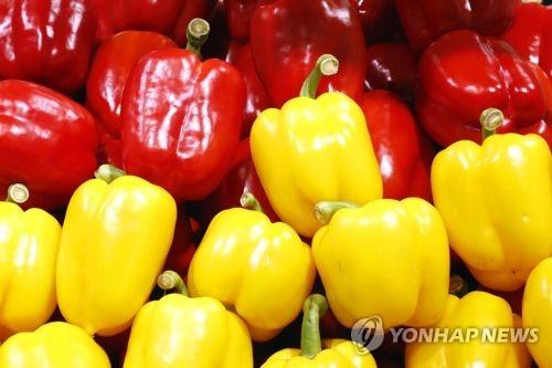 韩中甜椒检疫问题谈判达成协议