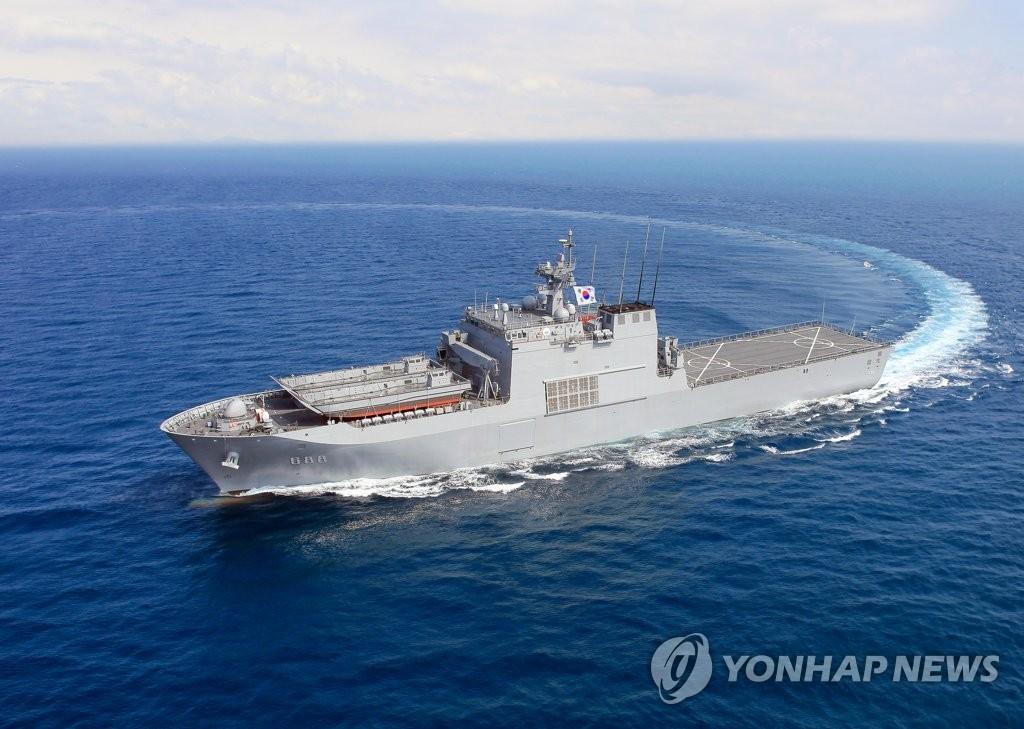 韩海军三艘舰艇下月访问日本佐世保港