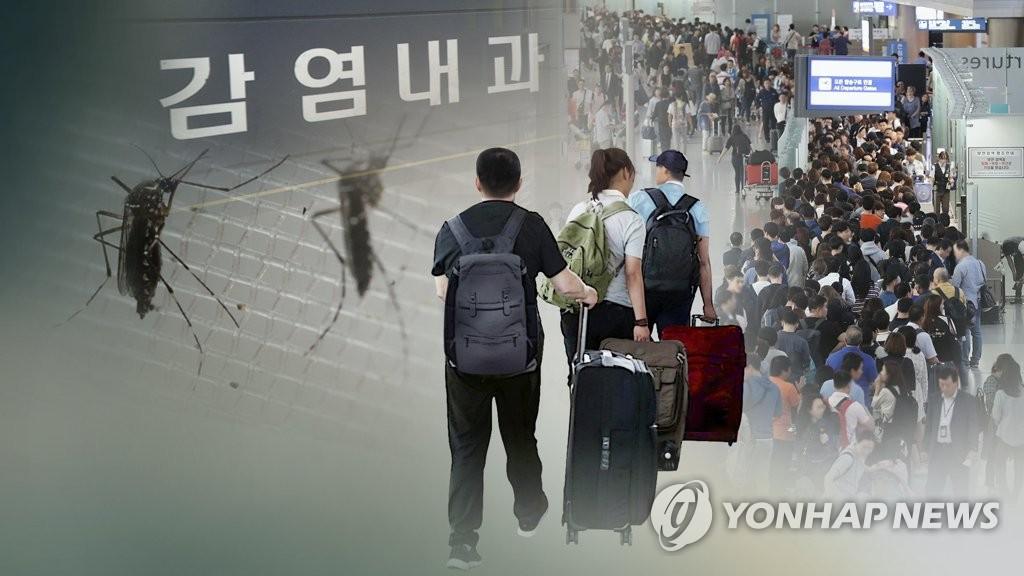 韩2017年529人携传染病入境