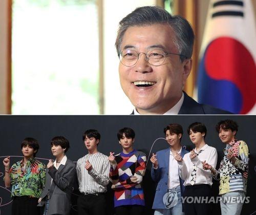 防弹少年团将作为韩国总统特别使节出席联大