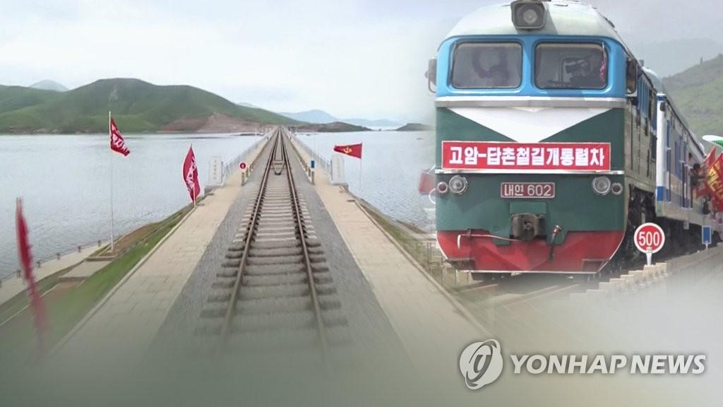 韩朝铁路联合考察团第二次开会