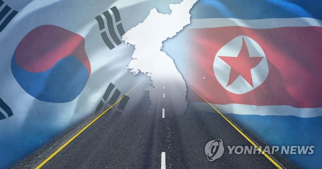 韩朝开会交换公路合作技术资料