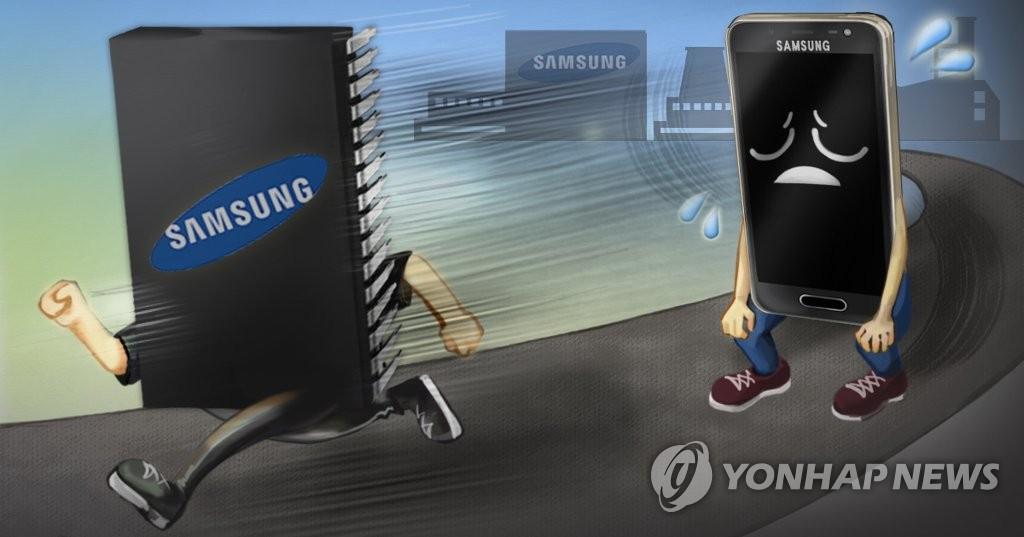 统计:2018年韩手机出口额同比减23.2%