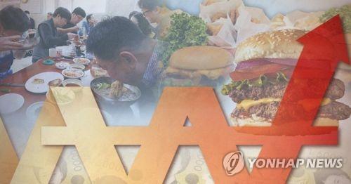韩国5月外出就餐价格同比涨2.1%