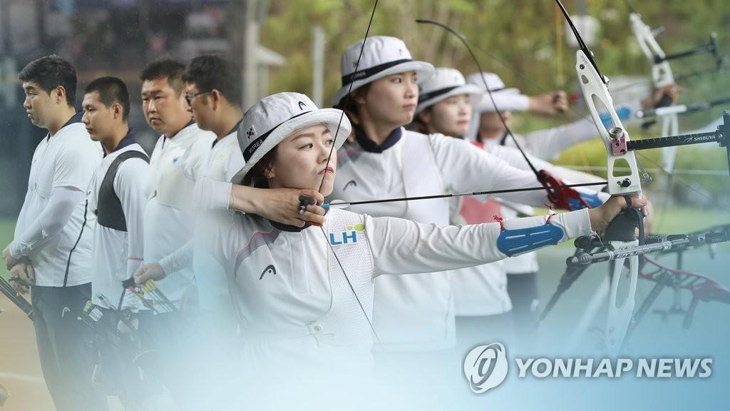 雅加达亚运第11天 韩国包揽射箭3金