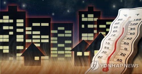 韩国多地高温不断 首尔热带夜已持续十天